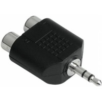 ADAPTER 3.5mm-RCA x 2