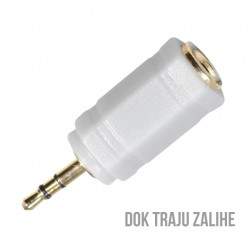 ADAPTER 2.5mm-3.5mm G M/Ž