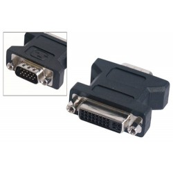 ADAPTER DVI-VGA Ž/M